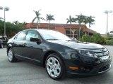 2010 Atlantis Green Metallic Ford Fusion SE #52816960