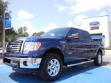 2011 Dark Blue Pearl Metallic Ford F150 XLT SuperCrew 4x4 #52816979