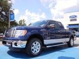 2011 Dark Blue Pearl Metallic Ford F150 XLT SuperCab #52816982