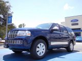 Dark Blue Pearl Metallic Lincoln Navigator in 2011