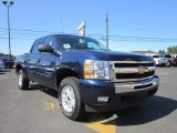 2011 Imperial Blue Metallic Chevrolet Silverado 1500 LT Crew Cab 4x4 #52818413
