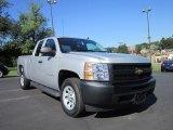 2011 Sheer Silver Metallic Chevrolet Silverado 1500 Extended Cab #52818418