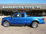 2011 Blue Flame Metallic Ford F150 XLT SuperCab 4x4 #52817446