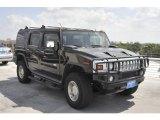 2003 Black Hummer H2 SUV #52809629