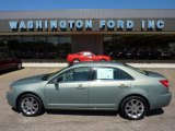 2008 Moss Green Metallic Lincoln MKZ AWD Sedan #52817459