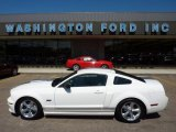 2007 Performance White Ford Mustang Shelby GT Coupe #52817460