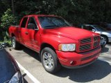 2002 Flame Red Dodge Ram 1500 Sport Quad Cab 4x4 #52816509