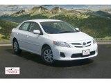 2011 Super White Toyota Corolla LE #52971657