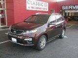 2012 Dark Cherry Kia Sorento SX V6 #52971839