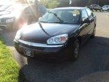 2005 Dark Blue Metallic Chevrolet Malibu Sedan #52971937