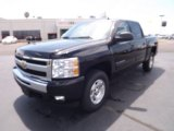 2011 Black Chevrolet Silverado 1500 LT Crew Cab 4x4 #52971857