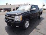 2011 Black Chevrolet Silverado 1500 LTZ Crew Cab 4x4 #52971858
