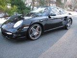 2007 Black Porsche 911 Turbo Coupe #52971676