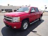 2011 Victory Red Chevrolet Silverado 1500 LTZ Crew Cab 4x4 #52971859