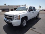 2011 Summit White Chevrolet Silverado 1500 LT Crew Cab 4x4 #52971861