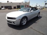 2012 Silver Ice Metallic Chevrolet Camaro LT Convertible #52971863