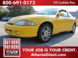 2002 Yellow Chevrolet Cavalier LS Sport Coupe #52972042