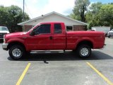 2003 Red Clearcoat Ford F250 Super Duty XLT SuperCab 4x4 #52971959