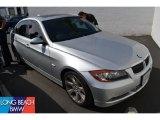 2008 Titanium Silver Metallic BMW 3 Series 335i Sedan #52971786