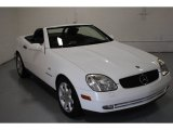 2000 Mercedes-Benz SLK Glacier White