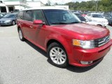 2010 Red Candy Metallic Ford Flex SEL #52971795
