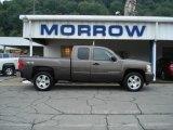 2008 Desert Brown Metallic Chevrolet Silverado 1500 LT Extended Cab 4x4 #52971721