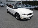 2011 Performance White Ford Mustang V6 Convertible #52971796