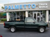 2005 Dark Green Metallic Chevrolet Silverado 1500 Regular Cab #52971802