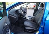 2012 Ford Focus SEL 5-Door Charcoal Black Leather Interior