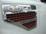 2010 Ford F350 Super Duty King Ranch Crew Cab 4x4 Dually Marks and Logos