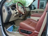2010 Ford F350 Super Duty King Ranch Crew Cab 4x4 Dually Chaparral Leather Interior
