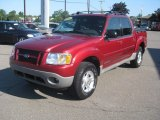 2002 Ford Explorer Sport Trac 4x4 Front 3/4 View