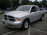 2011 Bright Silver Metallic Dodge Ram 1500 SLT Quad Cab 4x4 #53005027