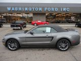 2011 Sterling Gray Metallic Ford Mustang V6 Premium Convertible #53005393