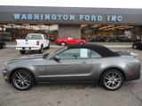 2011 Sterling Gray Metallic Ford Mustang GT Premium Convertible #53005394