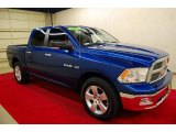 2009 Deep Water Blue Pearl Dodge Ram 1500 Lone Star Edition Crew Cab #53005229