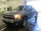 2009 Blue Granite Metallic Chevrolet Silverado 1500 LT Z71 Crew Cab 4x4 #53005613