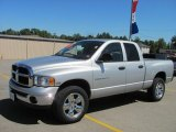 2005 Bright Silver Metallic Dodge Ram 1500 SLT Quad Cab 4x4 #53005633