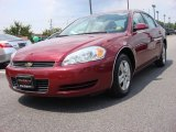 2006 Sport Red Metallic Chevrolet Impala LS #53005149