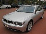 2003 Titanium Silver Metallic BMW 7 Series 760Li Sedan #53005155