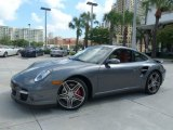 2008 Meteor Grey Metallic Porsche 911 Turbo Coupe #53005178