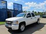 2011 Summit White Chevrolet Silverado 1500 LT Crew Cab 4x4 #53005182