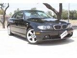 2006 Jet Black BMW 3 Series 325i Coupe #53005468