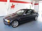 2001 Jet Black BMW 3 Series 330i Convertible #53004944