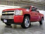 2008 Victory Red Chevrolet Silverado 1500 LT Crew Cab #5292149