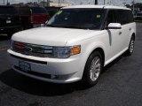 2010 White Platinum Tri-Coat Metallic Ford Flex SEL AWD #53004973