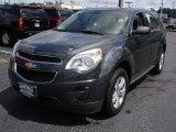 2010 Cyber Gray Metallic Chevrolet Equinox LS #53004979