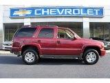 2004 Sport Red Metallic Chevrolet Tahoe Z71 4x4 #53005740