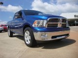 2011 Deep Water Blue Pearl Dodge Ram 1500 Big Horn Quad Cab #53005527