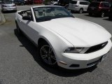 2011 Performance White Ford Mustang V6 Convertible #53005355